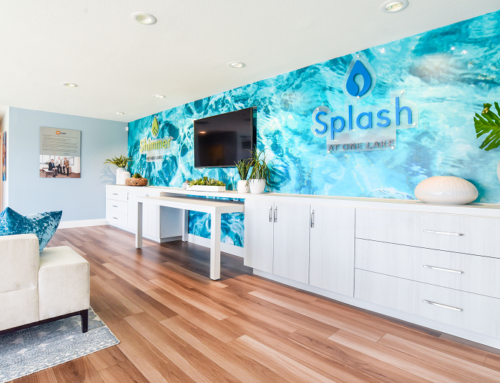 Shimmer and Splash at One Lake by TRI Pointe Homes