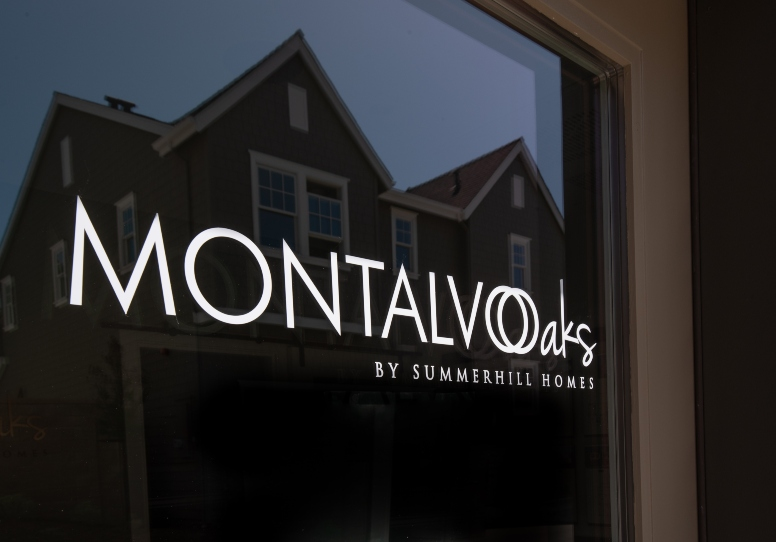 Montalvo Oaks by Summerhill Homes Signage 2